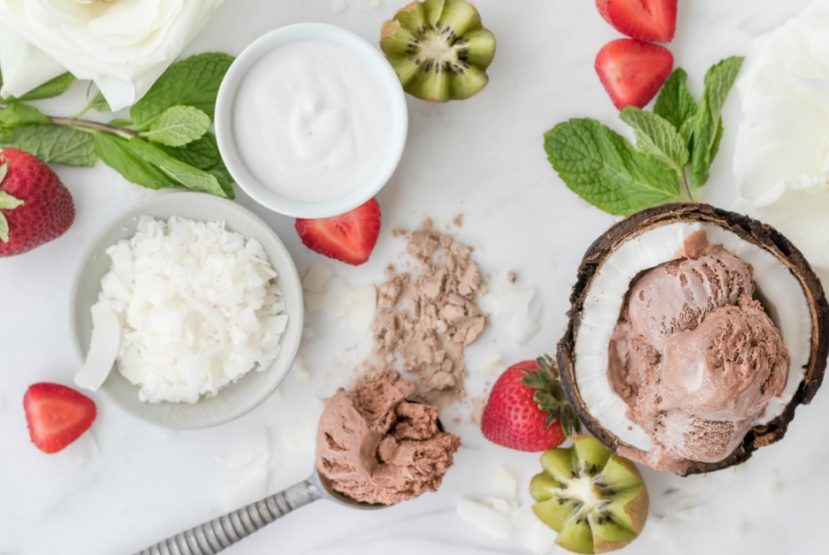 Recipe: Divine Chocolate Protein Ice Cream
