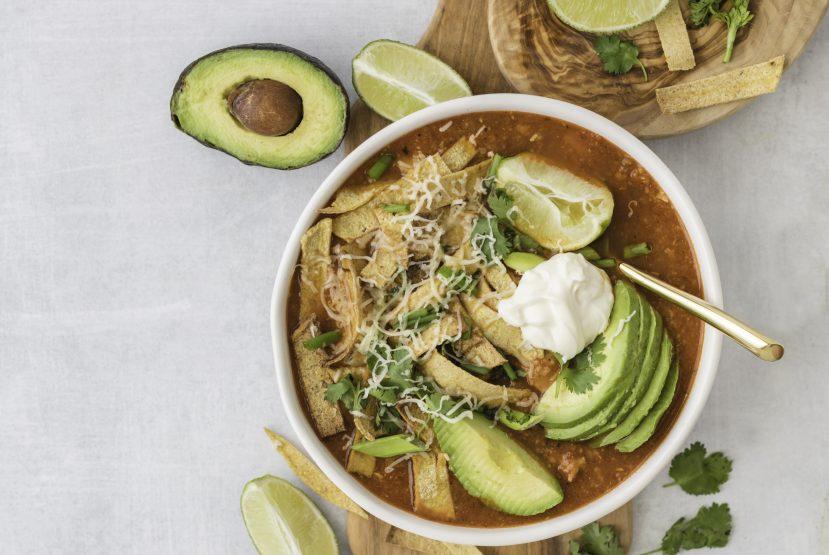Recipe: Healthy Chicken Tortilla Soup
