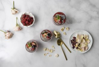 The Best Pudding Ever – Raspberry Rose Chia Pudding (Picture by Picture)