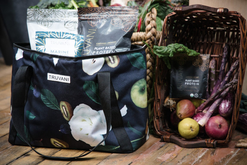 Win This Gorgeous Insulated Tote Filled with Truvani's Top-Selling Products
