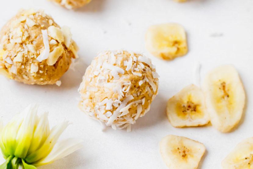 Truvani Protein Banana Crunch Bliss Balls