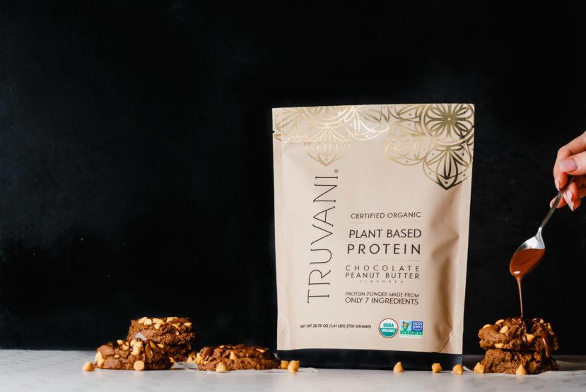 Truvani Protein Chocolate Peanut Butter Cookies